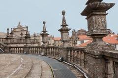 Katedra Santiago De w Hiszpania Compostela Obraz Royalty Free