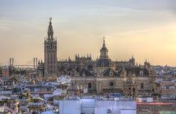 Katedra Seville, Andalusia, Hiszpania zdjęcie royalty free