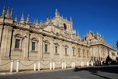 Katedra, Seville, Hiszpania. zdjęcia stock