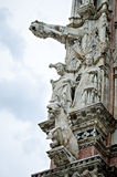 Katedra Siena statua Fotografia Royalty Free