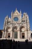 Katedra, Siena, Włochy Obrazy Stock