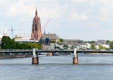 Katedra St Bartholomein w Frankfurt, Niemcy Obraz Stock
