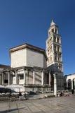 Świątobliwa Domnius katedra, północna fasada Zdjęcia Royalty Free