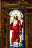 Katedra St Isaac Dalmatia, wielki Ortodoksalny kościół St Petersburg, Rosja Zdjęcie Royalty Free