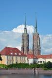 Katedra St John baptysta w Wrocławskim - Polska Zdjęcie Royalty Free