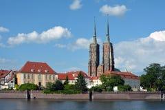 Katedra St John baptysta w Wrocławskim - Polska Fotografia Royalty Free