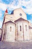 Katedra St Lawrance w Trogir, Chorwacja fotografia royalty free