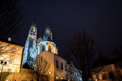 Katedra St Peter i Paul, Brno Zdjęcia Stock