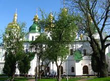 Katedra St Sophia St Sophia katedra jest świątynią budującym w pierwszej połowie 11th wieka w centrum Kijów Zdjęcia Royalty Free