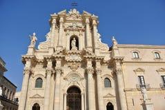 Katedra Syracuse (Świątynia Athena) Zdjęcie Royalty Free