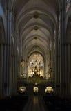 Katedra Toledo - wnętrze fotografia royalty free