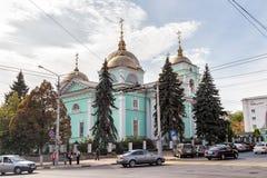Katedra transfiguracja Belgorod Rosja Zdjęcie Royalty Free