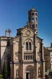 Katedra Uzes, okno wierza Zdjęcia Royalty Free
