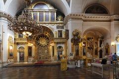 Katedra władyki transfiguracja wszystkie  Zdjęcie Royalty Free