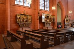Katedra w Frankfurt na magistrali, Niemcy Obraz Stock