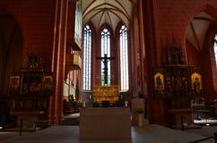 Katedra w Frankfurt na magistrali, Niemcy Zdjęcia Stock