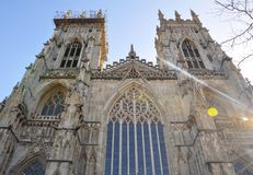 Katedra w Jork Obrazy Stock