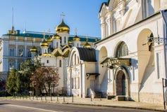 Katedra w Kremlin, Moskwa Zdjęcie Stock