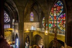 Katedra w Manizales, Kolumbia Zdjęcia Royalty Free