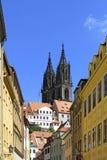 Katedra w Meissen, Saxony Zdjęcia Royalty Free