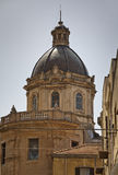 Alcamo miasteczka katedra. zdjęcia royalty free