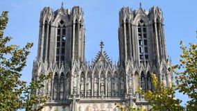 Katedra w mieście Reims zbiory wideo