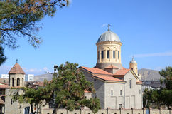 Katedra w mieście Gori, Shida Kartli region, Gruzja Obrazy Stock