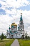 Katedra w Omsk Zdjęcie Stock