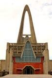 Katedra w republice dominikańskiej - Higuey obraz stock