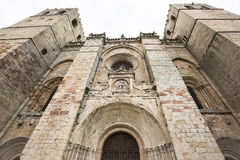 Katedra w Siguenza Zdjęcia Stock