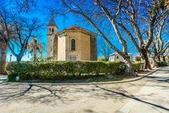 Katedra w Solin miasteczku, punkty zwrotni w Dalmatia zdjęcie stock