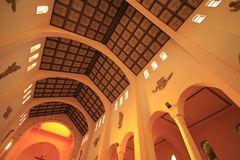 Katedra w talkach Obrazy Stock