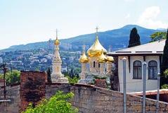 Katedra w Yalta, Crimea obraz stock