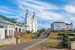 Katedra ?wi?ty duch w Minsk, Bia?oru? zdjęcie stock