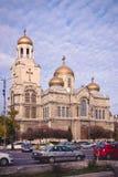 Katedra wniebowzięcie dziewica, Varna, Bułgaria Fotografia Royalty Free