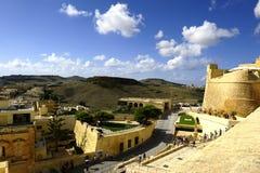 Katedra wniebowzięcie w Castello Di Arech fotografia stock