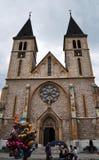 Katedrala - de Kathedraal en baloons Stock Afbeeldingen