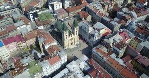 Katedrala Srca Isusova,萨拉热窝 免版税图库摄影