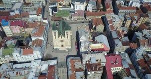 Katedrala Srca Isusova, Sarajevo Royaltyfria Foton