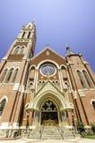 Katedralna świątynia dziewica Guadalupe Zdjęcia Royalty Free