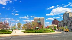 Katedralna bazylika święty Peter i Paul Filadelfia PA zdjęcie royalty free