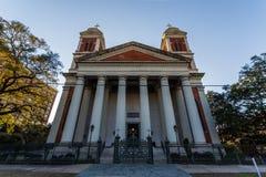 Katedralna bazylika Niepokalany poczęcie w wiszącej ozdobie, Alaba obrazy royalty free