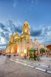 Katedralna bazylika w Salto, Argentyna Zdjęcie Stock