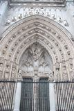 katedralna brama Toledo Zdjęcie Stock