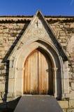 katedralna drzwiowa stara strona Zdjęcie Stock