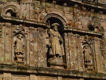 katedralna ekscerpci San ściana Zdjęcia Stock