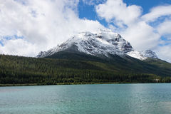 Katedralna góra i Wapta jezioro Obraz Royalty Free