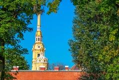 Katedralna iglica Obraz Royalty Free