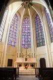 katedralna kaplica Chartres trochę zdjęcie stock