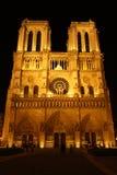 katedralna Paniusia De Noter Paris Obraz Royalty Free
